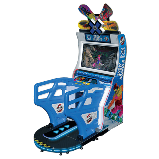 X Games Snowboarder Arcade Game